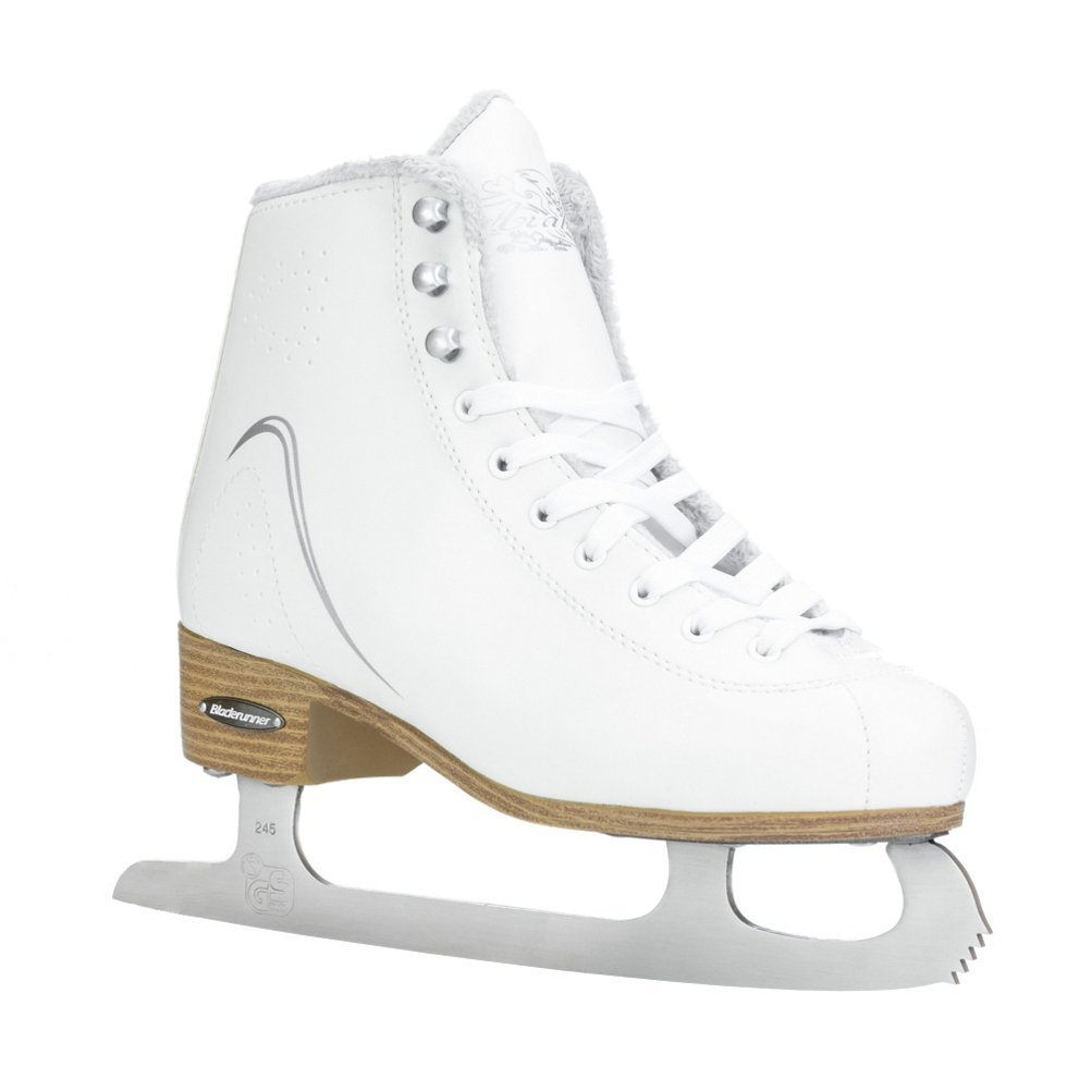 Bladerunner Arabella Womens Figure Ice Skates - 5.0/White-Silver by Arabella