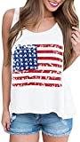 For G and PL Women's American Flag Tank Top Classic USA Flag M