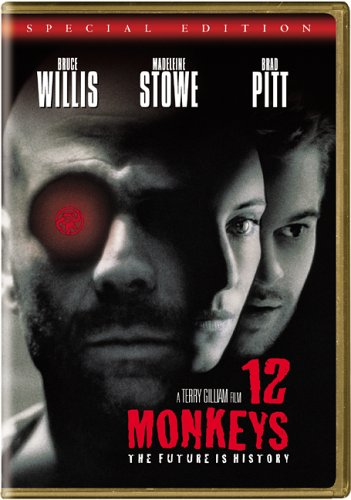12 Monkeys dvd cover (1995) R2 GERMAN Custom