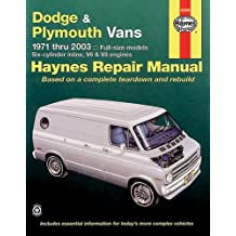 Haynes Dodge & Plymouth Vans 1971-2003