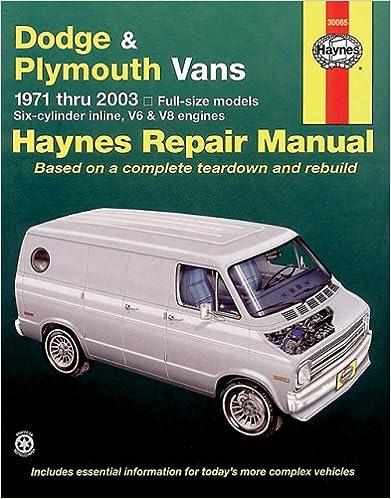 Dodge plymouth vans 1971 2003 haynes repair manuals haynes dodge plymouth vans 1971 2003 haynes repair manuals 1st edition fandeluxe Image collections