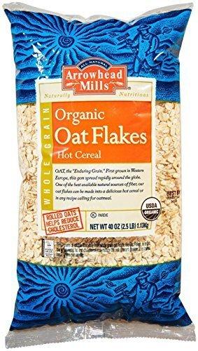 Arrowhead Mills, Oat Flakes Organic, 40 ()