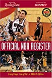 Official NBA Register, Sporting News, 0892047445