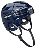 Bauer IMS 5.0 Helmet Combo, Navy, Small offers