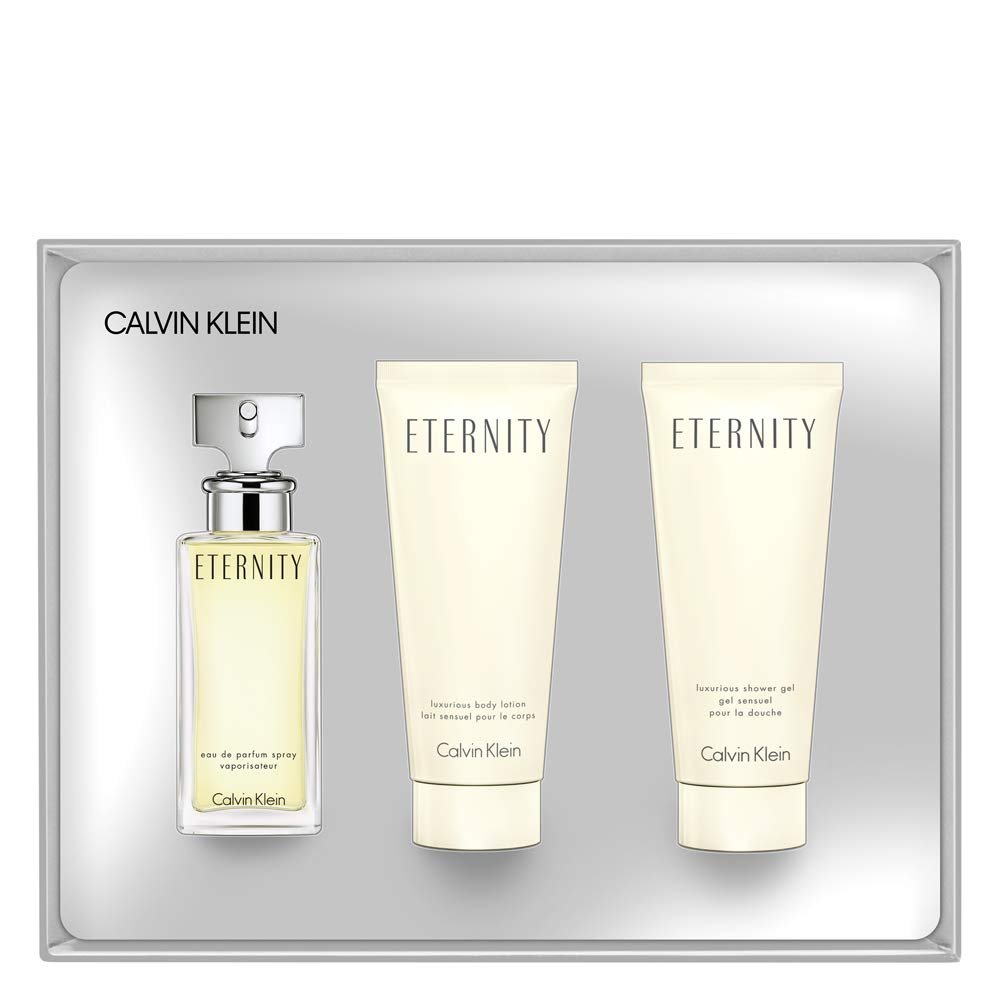 Wash Gift Eternity Klein Women ParfumBody Set Eau De For Calvin Lotion And wPOikuZXTl