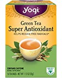 Yogi Teas Super Antioxidant Green Tea, 16 Count (Pack of 6), Packaging May Vary
