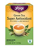 Yogi Tea, Super Antioxidant Green, 16 Count (Pack of 6), Packaging May Vary