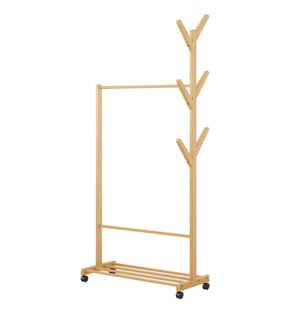 70CM Qi_Hallway Furniture Coat Stand with Hooks, Clothes Rack Free Standing Solid Coat and Hat Rack Base for Hanging Jackets, Caps, Handbags in Office Home Standing Coat Racks (color   70CM)