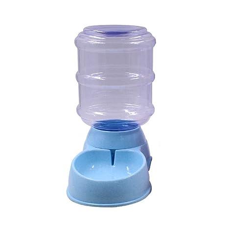 MYQI Fuente De Agua para Mascotas AutomáTica para Gatos Y Perros, 3.5 L, Azul