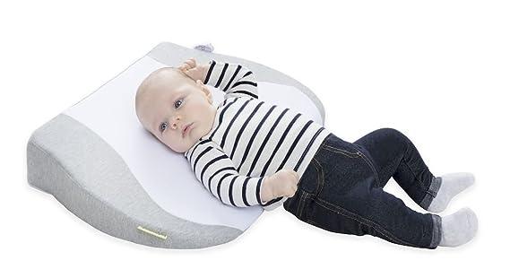 Babymoov A050011 - Colchon con pendiente, unisex, tejido gris