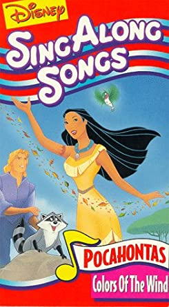 Amazon Com Disney Sing Along Songs Pocahontas Colors Of The Wind