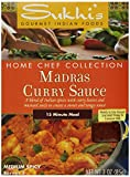 Sukhi's Madras Curry Sauce, 3-Ounce Packets  (Pack of 6)