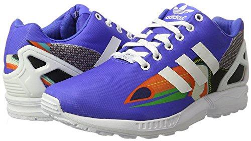 Blu bianco Flux Sneaker Donna Zx Adidas OxIqv64wI