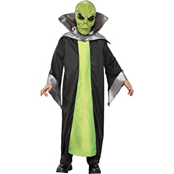 Kidu0027s Green Alien Halloween Costume (Small ...  sc 1 st  Amazon.com & Amazon.com: Kidu0027s Green Alien Halloween Costume (Small 5-7): Toys ...