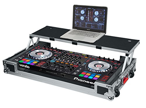Gator Cases G-TOUR Series DJ Controller Road Case with Sliding Laptop Platform - Custom Fit for Pioneer DDJ-SZ; (G-TOURDSPDDJSZ)