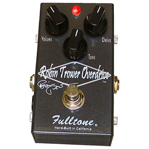 Fulltone Pedal Distortion - Fulltone Custom Shop RTO Robin Trower Signature Overdrive Pedal