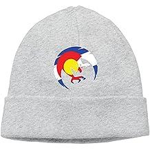 Phoenix Colorado State Flag Logo Unisex Beanie Knit Winter Skull Cap Hats