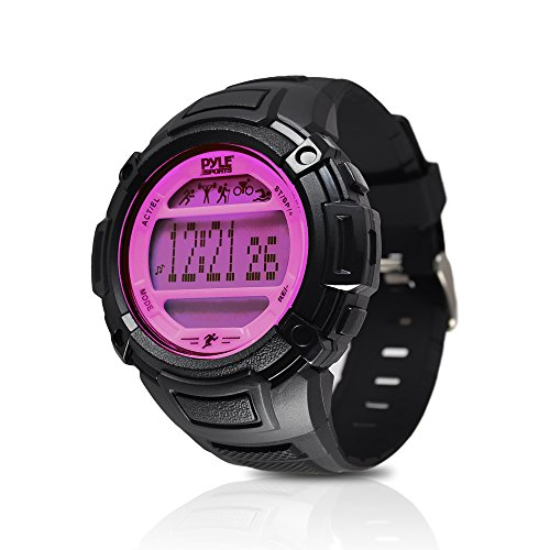Pyle Multi Function Monitor Pedometer Backlight