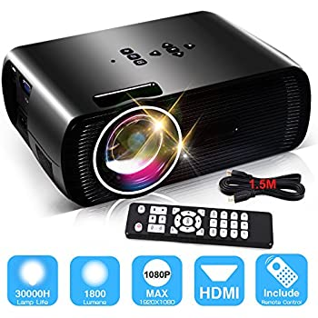 Amazon Com Pyle Lcd Led Video Projector Home Theater