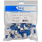 IC107E5CWH - 25PK Cat5 Jack - White