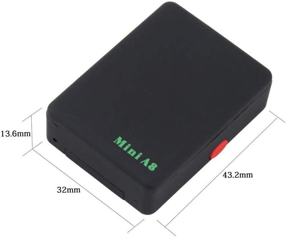 RONSHIN GPS pour Animaux de Compagnie de Voiture de v/élo de v/éhicule en Temps r/éel traquant Le Mini localisateur portatif de traqueur de GSM//GPRS//GPS