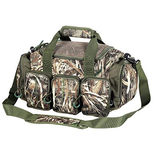 Timber Ridge 15-inch Camo Catch All Gears Deluxe Blind Duffel Duffle Bag (Style-B)