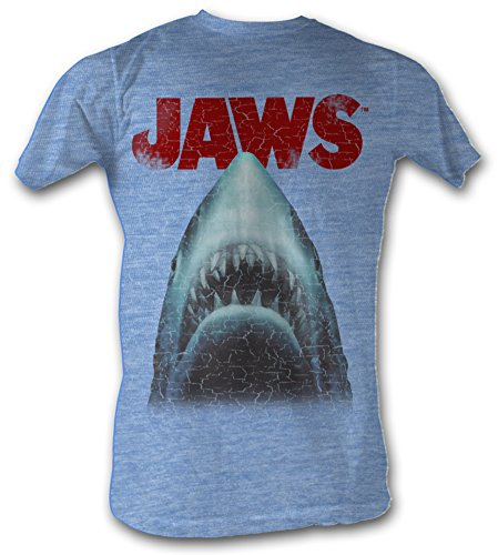 Jaws Stressed Out Shark Adult Soft T-Shirt