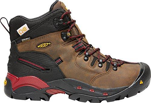 CSA Steel Men's Bison Toe Boots KEEN Waterproof Hamilton Work Utility Mid Ex4nwSqZU
