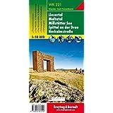 WK 221 Liesertal - Maltatal - Millstätter See - Spittal an der Drau - Nockalmstraße, Wanderkarte 1:50.000, freytag & berndt Wander-Rad-Freizeitkarten
