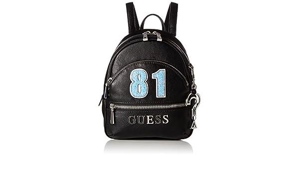 Guess School bags Manhattan Backpack black | The Little