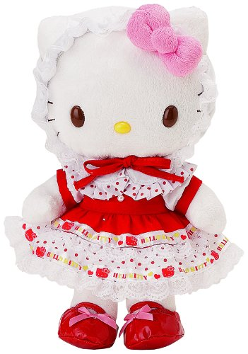 Hello Kitty Accessory - Holiday Red - Dress Me (Outfit Only, Plush Doll NOT Included)