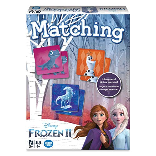 Wonder Forge Disney Frozen 2 Matching Game for Girls & Boys