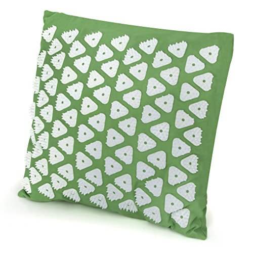 Mat Neck (Kendal Acupressure Massage Mat and Pillow Set for Chronic Neck Back Head Pain Relief (e-cushions))