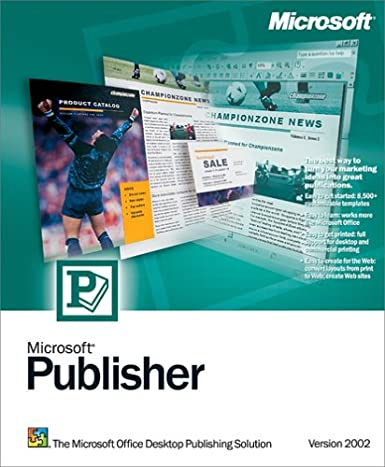 microsoft publisher 2002 download