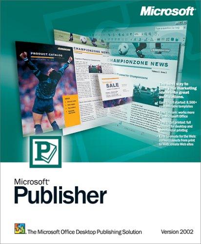 Microsoft Publisher 2002 Old Version
