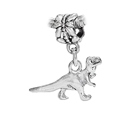 Amazon Com Dinosaur T Rex Tyrannosaurus Toy Dangle Charm For Silver