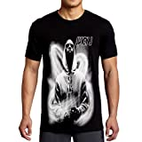 mazumi8 Juicy J Hood Hiphop T-Shirt Size L Black