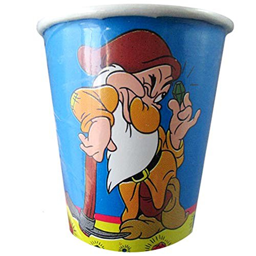 Snow White Vintage (Snow White and the Seven Dwarfs Vintage 7oz Paper Cups (8ct))