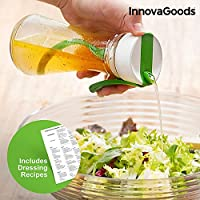 Innovagoods IG811181 Emulsionador De Salsas Con Recetario, Transparente
