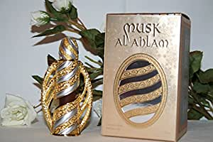 Musk Al Ahlam - Alcohol Free Arabic Perfume Oil Fragrance for Men and Women (Unisex)