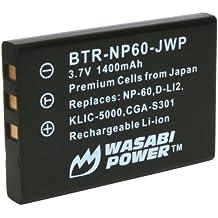 Wasabi Power Battery for Kodak KLIC-5000 and Kodak EasyShare DX6490, DX7440, DX7590, DX7630, LS420, LS433, LS443, LS633, LS743, LS753, P712, P850, P880, Z730, Z760, Z7590