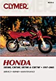 Honda XR50R, CRF50F, XR70R and CRF70F 1997-2005, Clymer Publications Staff, 0892879904