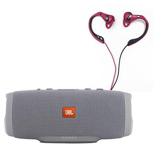 jbl-charge-3-waterproof-portable-bluetooth-speaker-gray-and-polk-audio-ultrafit-500-mid-flange-earph