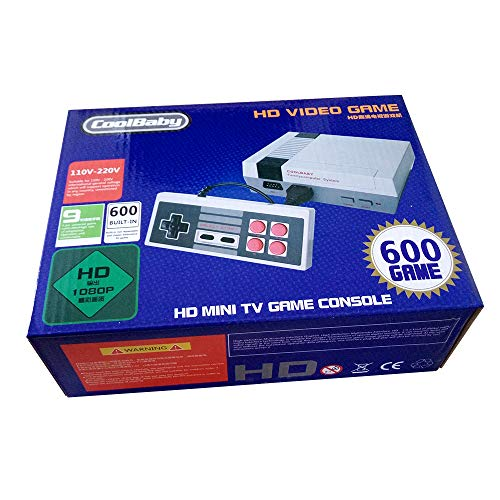 Versiones Originales Juegos Retro Family Mini Consola Construido en 600 Seccion Clásicas HDMI Videojuegos a buen precio