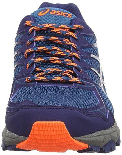 Chaussures De Asics Bleu Course Sentier Gel Indigo 5393 Sur 4 mosaque Homme fujitrabuco Argent Pour qtwwxZnfR