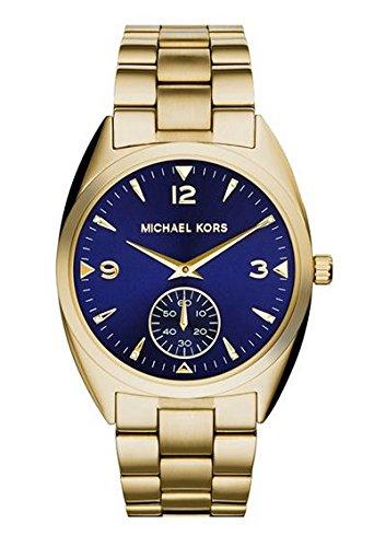 Michael Kors Callie Champagne Dial Gold-tone Unisex Watch MK3345