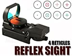 Reflex Red And Green Sight With 4 Reticles Fits Tippmann 98 Custom