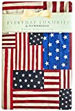 American Flag Collage Patriotic Print Vinyl Flannel Backed Tablecloth, Indoor/Outdoor Tablecloth for Picnic, Barbeque, Patio and Kitchen Dining,, Indoor/Outdoor (52 Inch x 70 Inch Oblong/Rectangle)