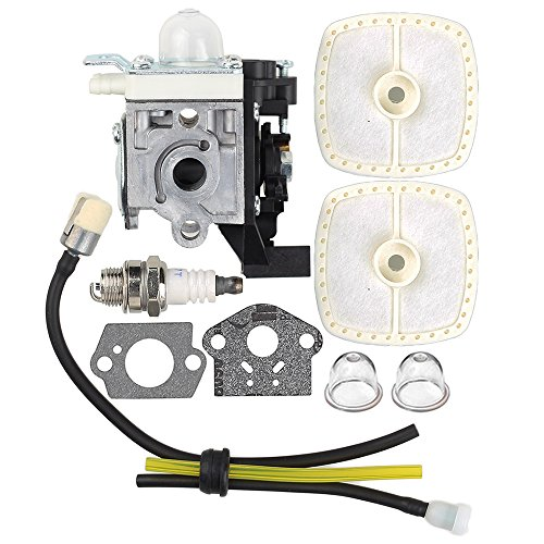(Harbot RB-K93 Carburetor with Air Filter Tune Up Kit for Echo SRM225 SRM225i SRM225U SRM225SB GT225 GT225i GT225L GT225SF PAS225 PE225 PPF225 SHC225 Trimmer)