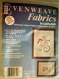 Evenweave Fabrics in Garland ... Christmas Design
